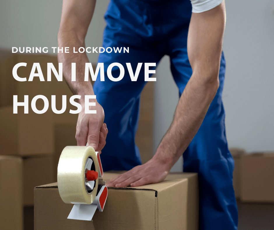 Can you move to a new house during the coronavirus lockdown?