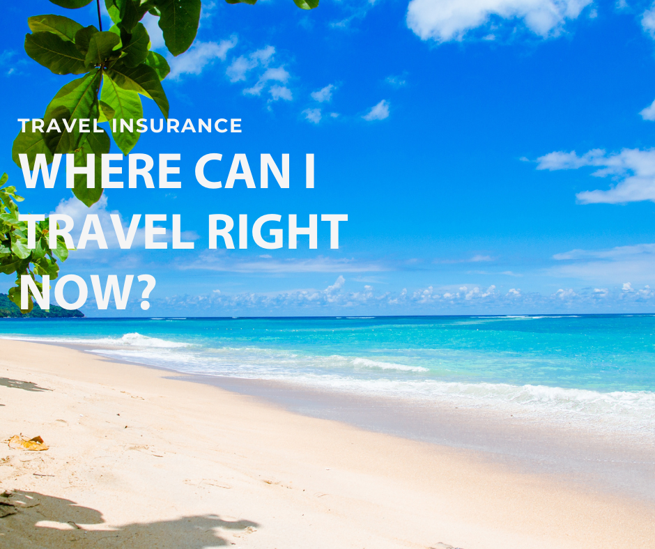 Where can I travel right now?